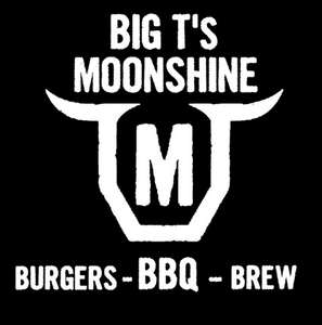 Big T's Moonshine BBQ Logo